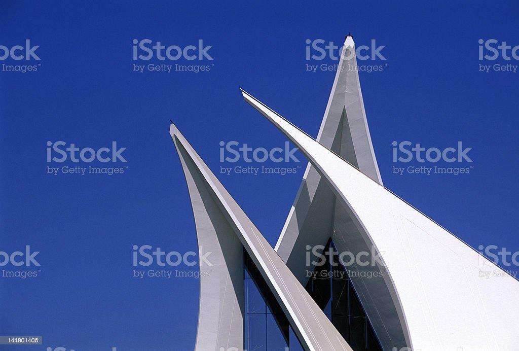 Dubai modern structure royalty-free stock photo