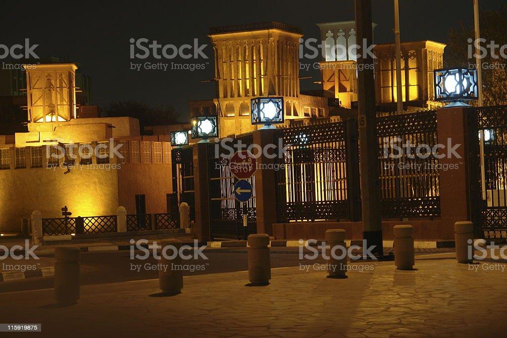 Dubai Night stock photo