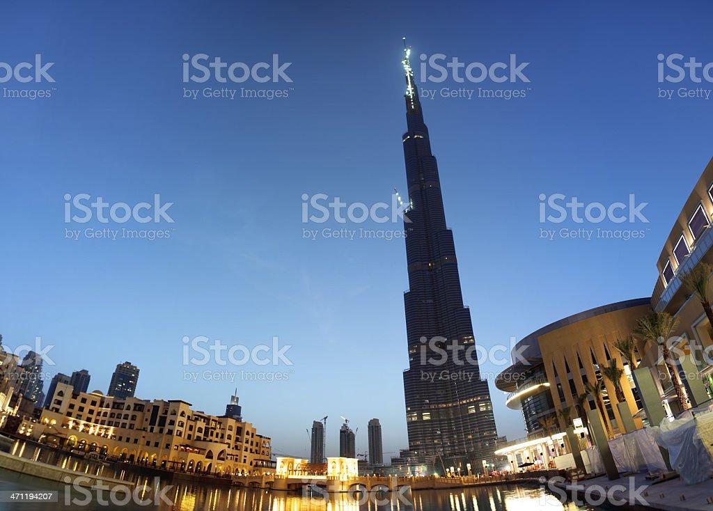 Dubai Panorama royalty-free stock photo