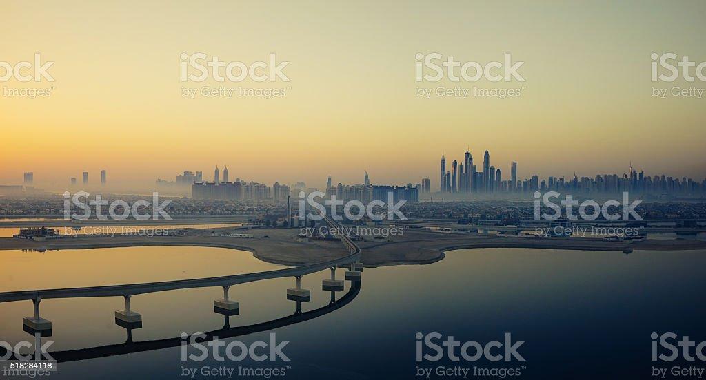 Dubai Panoramic stock photo