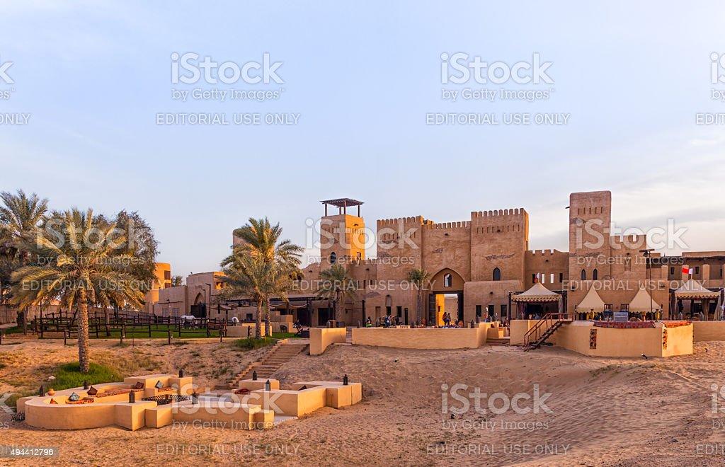 Dubai Sahara Desert stock photo
