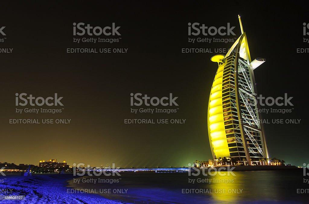 Dubai Scene royalty-free stock photo