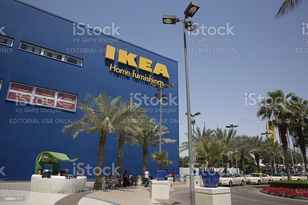 IKEA Dubai store stock photo