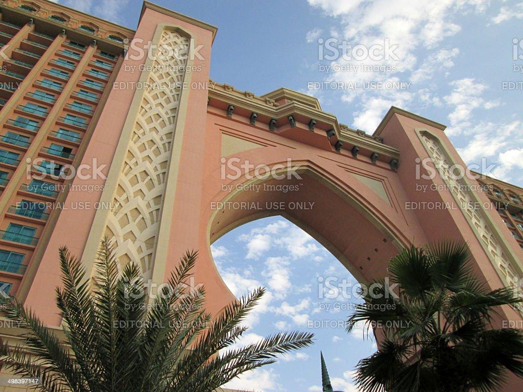 Dubai, UAE - Atlantis, The Palm stock photo