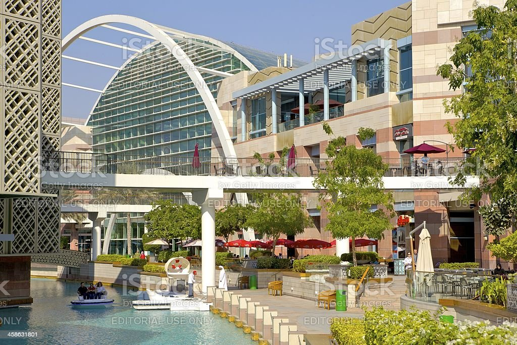 Dubai, UAE - Festival Centre Mall stock photo