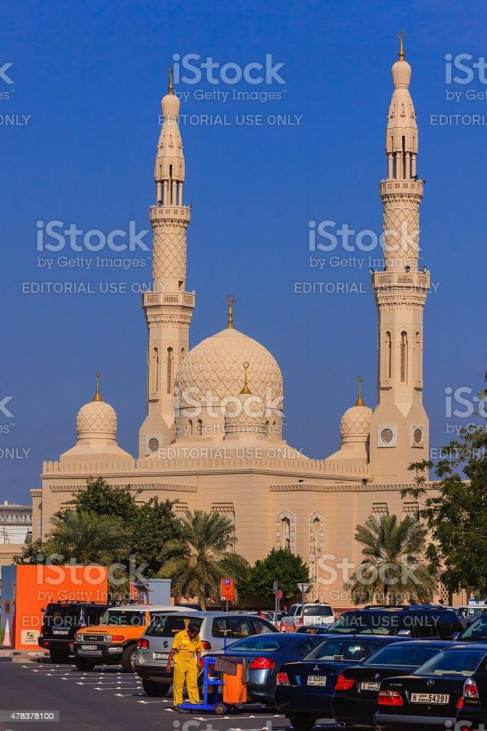 Dubai, UAE - Jumeirah Grand Mosque stock photo