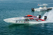 Dubai UAE -  Speedboat, The Spirit of Abu Dhabi