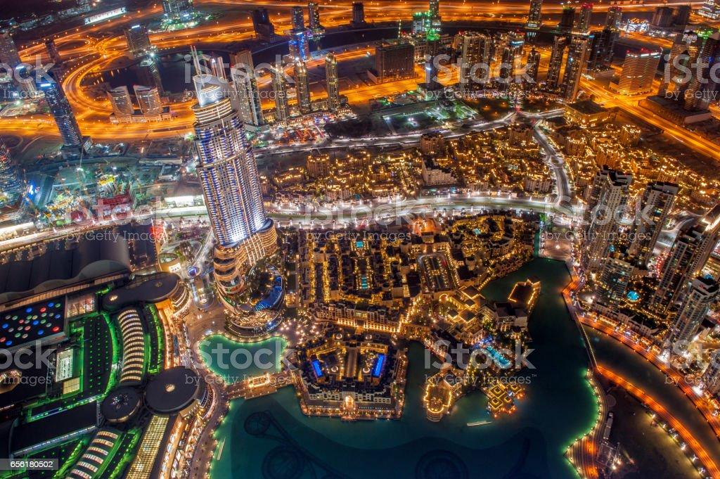 Dubai view stock photo