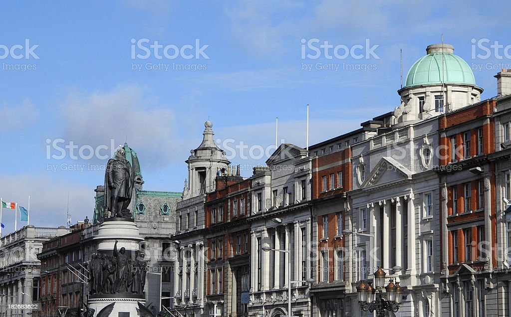 Dublin Architecture stock photo