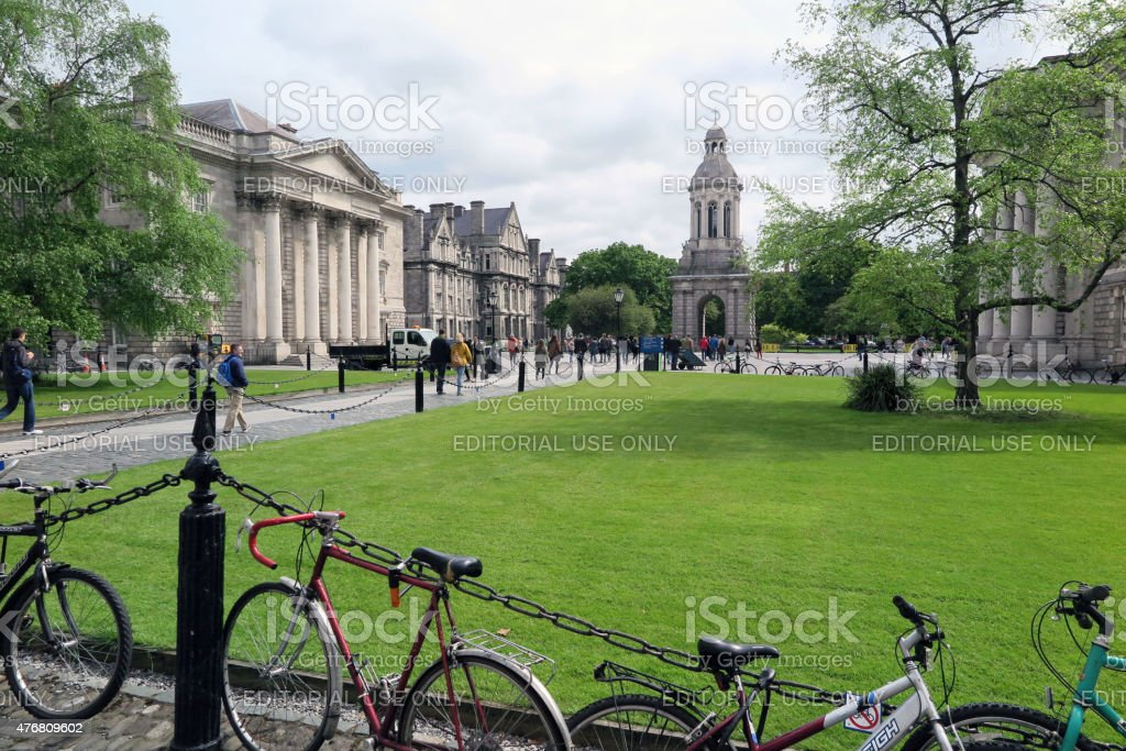 Dublin Attractions, May, 2015 stock photo
