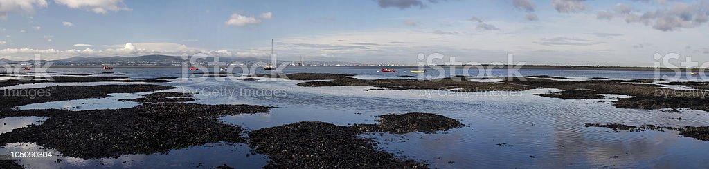 Dublin bay royalty-free stock photo