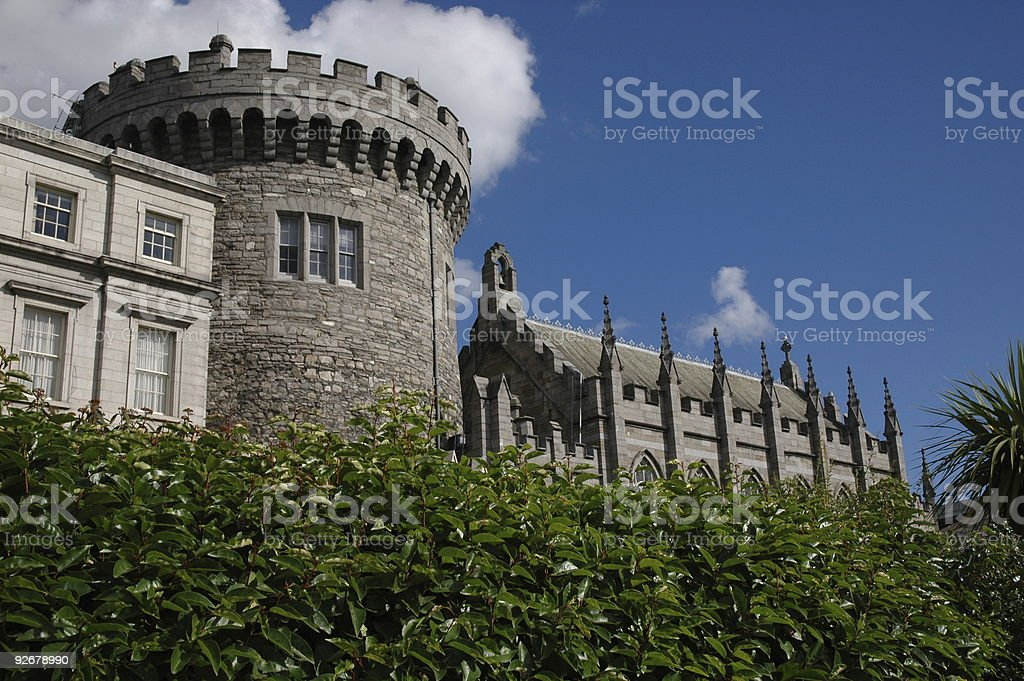Dublin Castle Grounds royalty-free stock photo