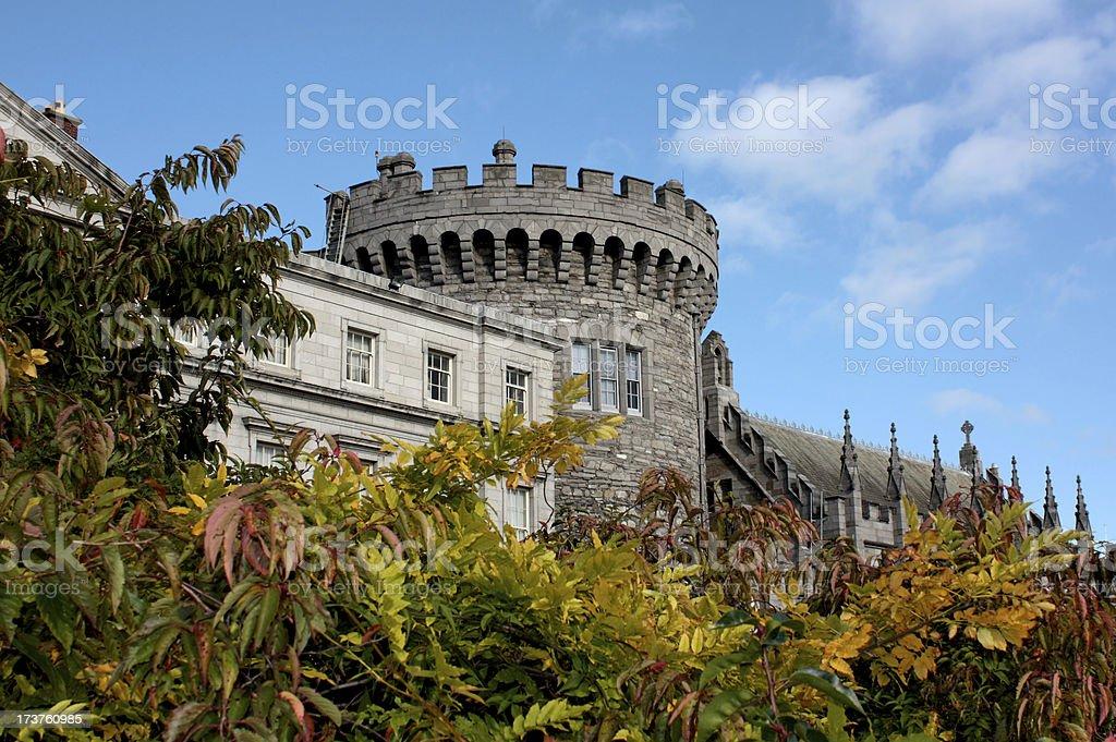 Dublin Castle in Ireland royalty-free stock photo