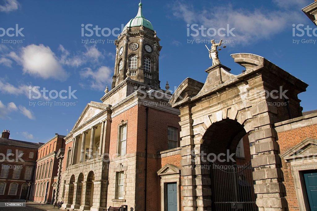 Dublin Castle royalty-free stock photo