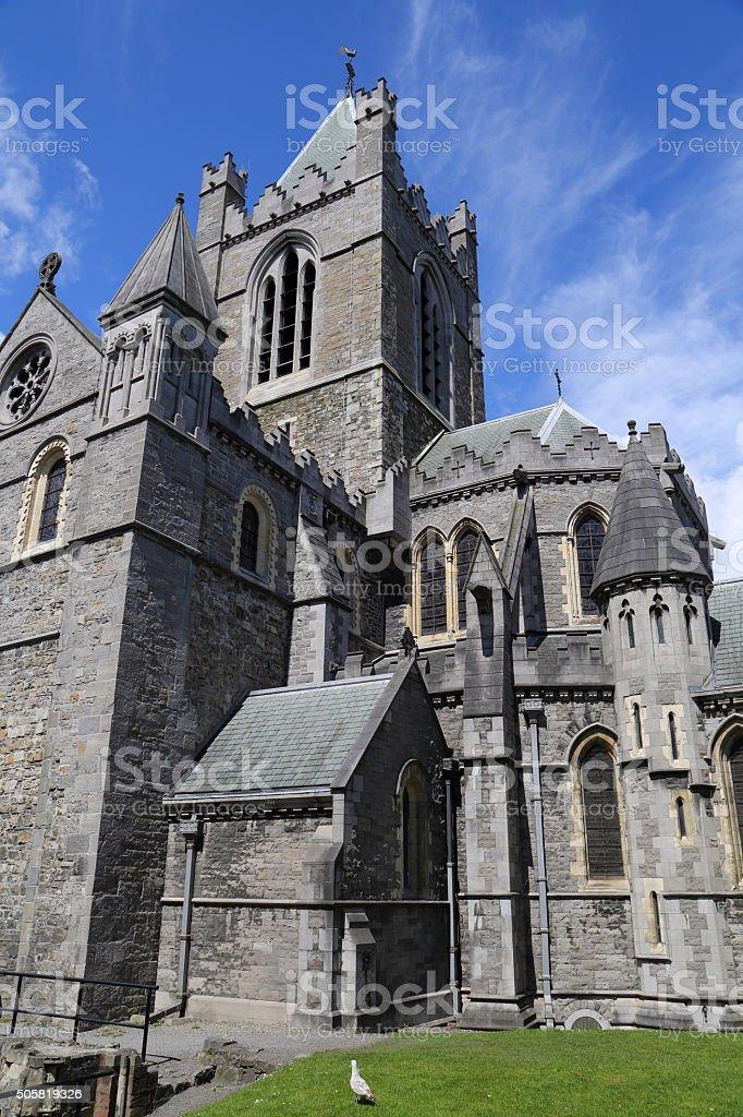 Dublin - Christ church stock photo