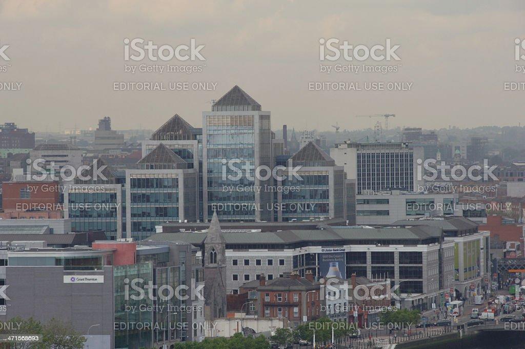 Dublin City centre royalty-free stock photo