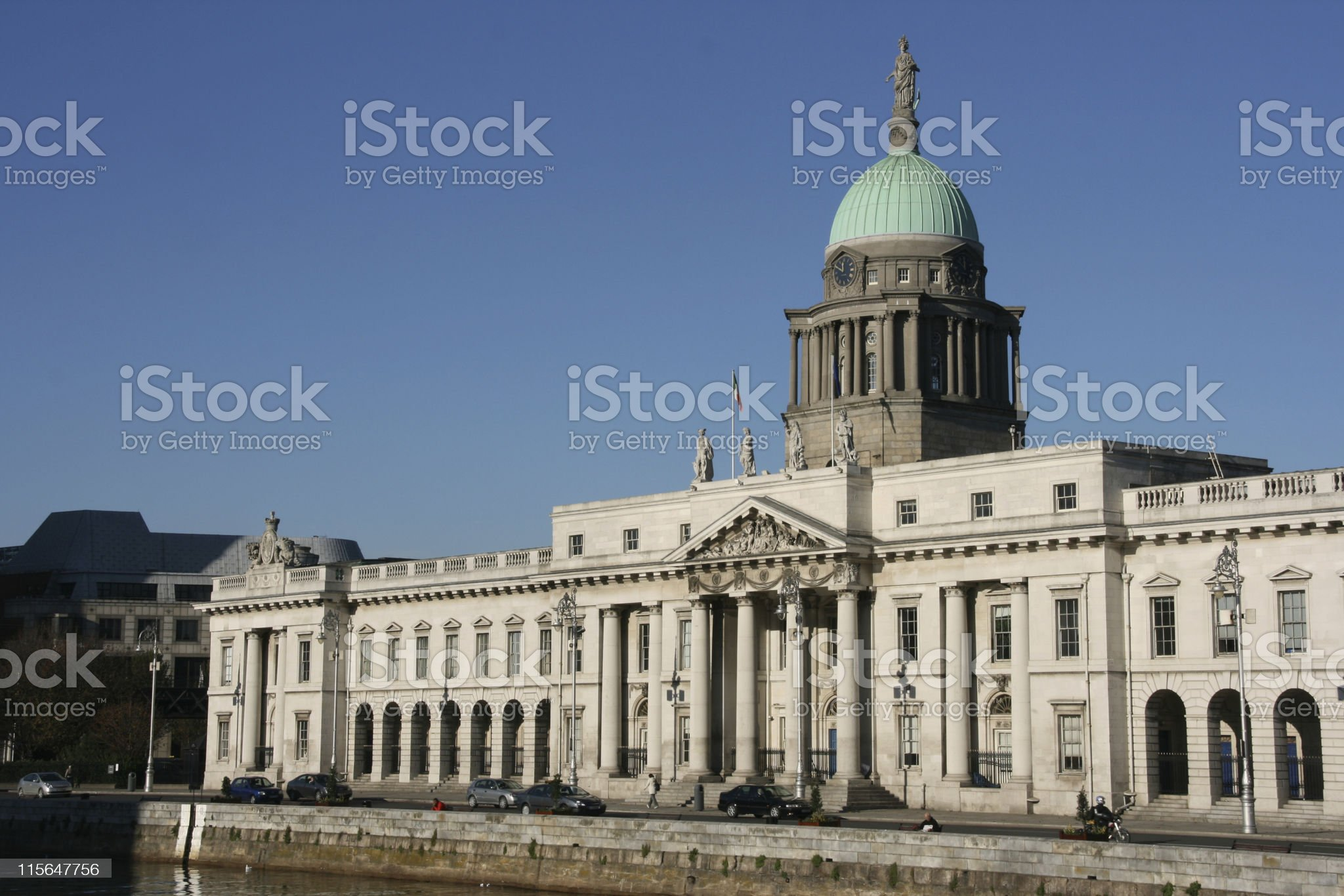 Dublin Landmark royalty-free stock photo