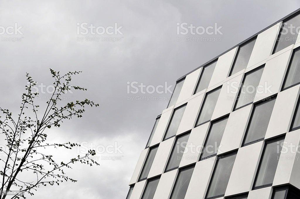 Dublin: Modernes Gebäude-Detailarbeit. Lizenzfreies stock-foto
