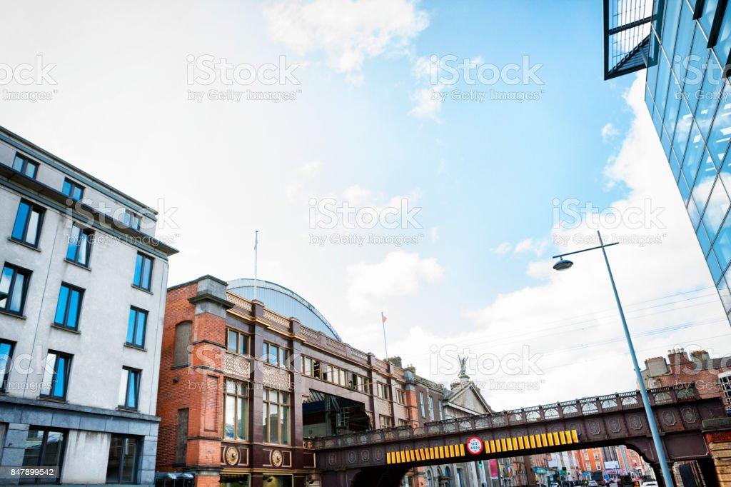 Dublin Pearse Railway Station in Dublin, Ireland stock photo