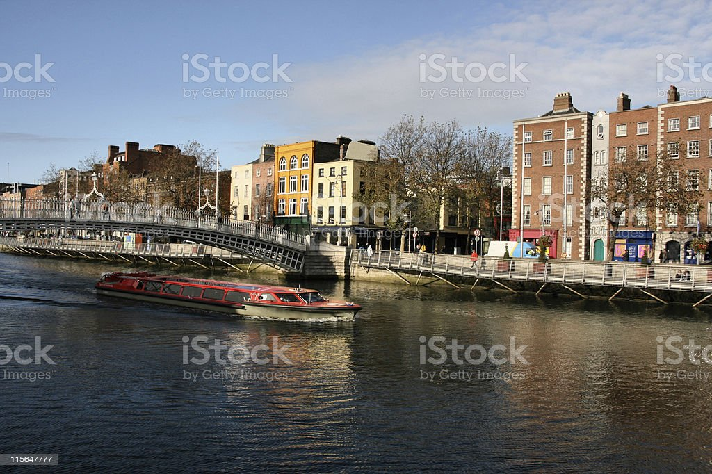 Dublin royalty-free stock photo