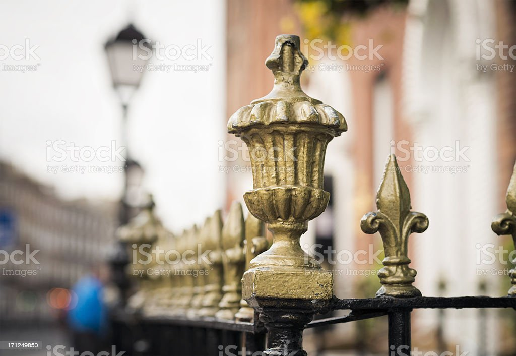 Dublin Street stock photo