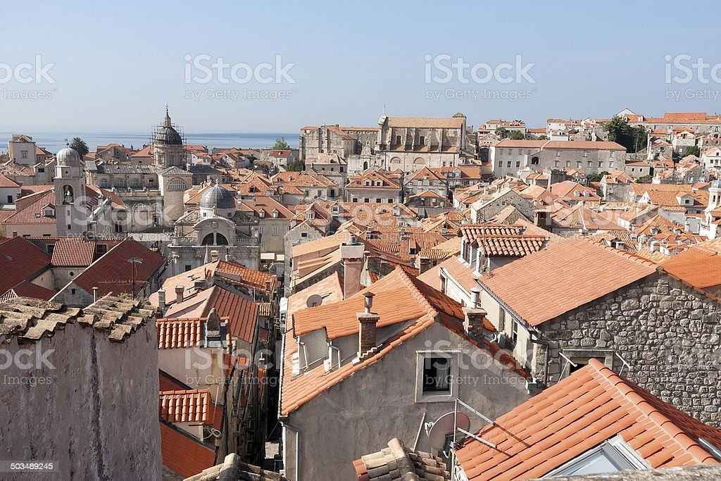 Dubrovnik in Kroatien Lizenzfreies stock-foto