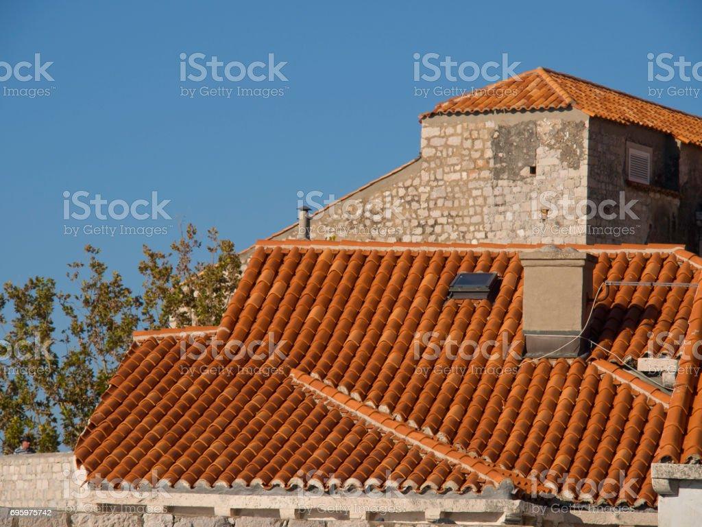 dubrovnik in croatia stock photo