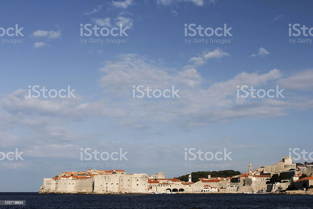 Dubrovnik in Dalmatia, Croatia royalty-free stock photo