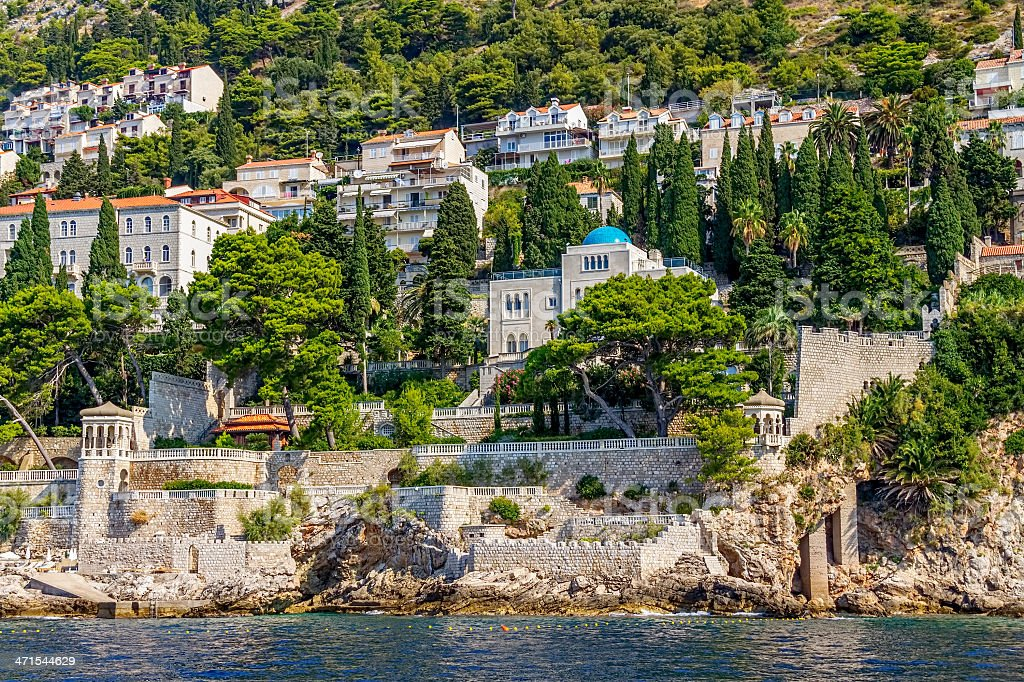 Dubrovnik old town royalty-free stock photo