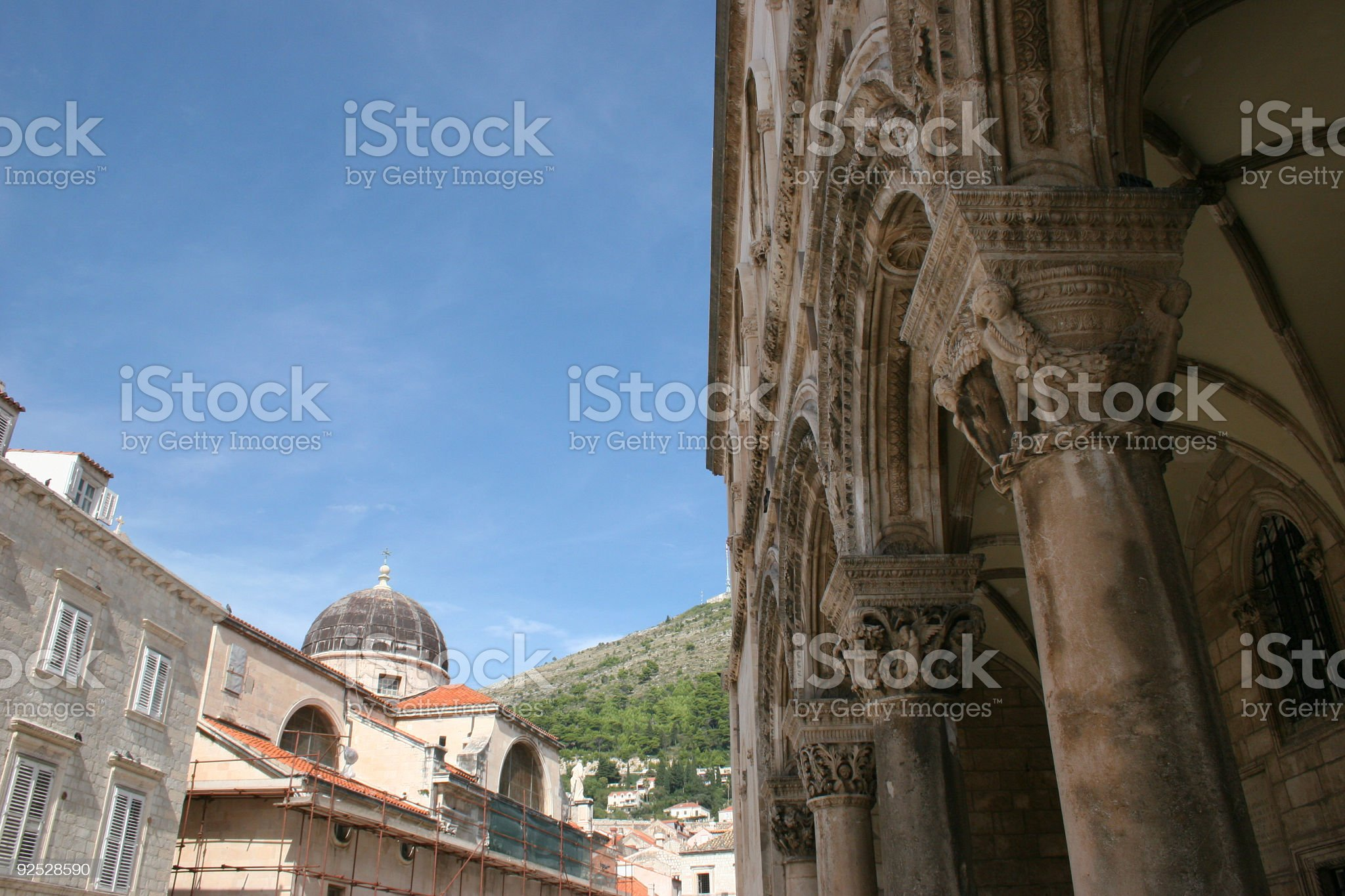 Dubrovnik Street 2 royalty-free stock photo