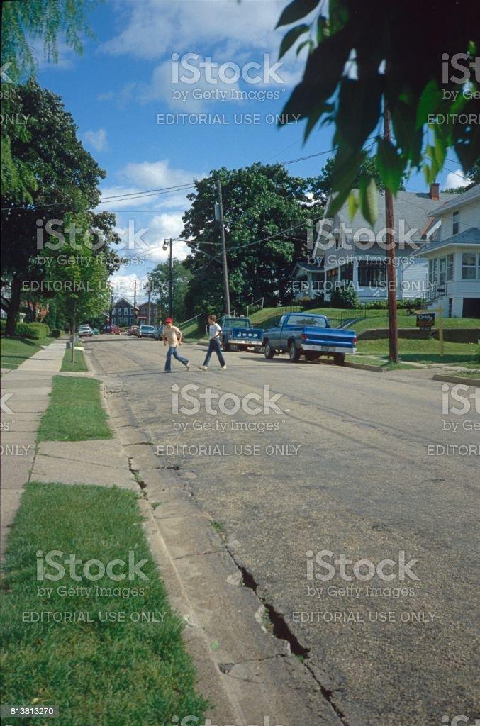 Dubuque I. stock photo
