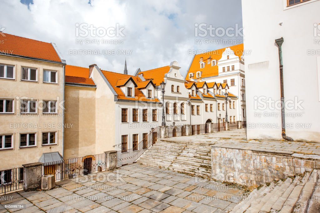 Ducal castle in Szczecin stock photo
