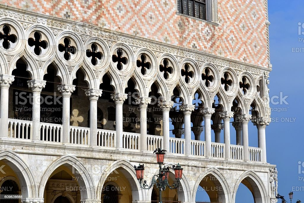 Ducal Palace, Venice stock photo