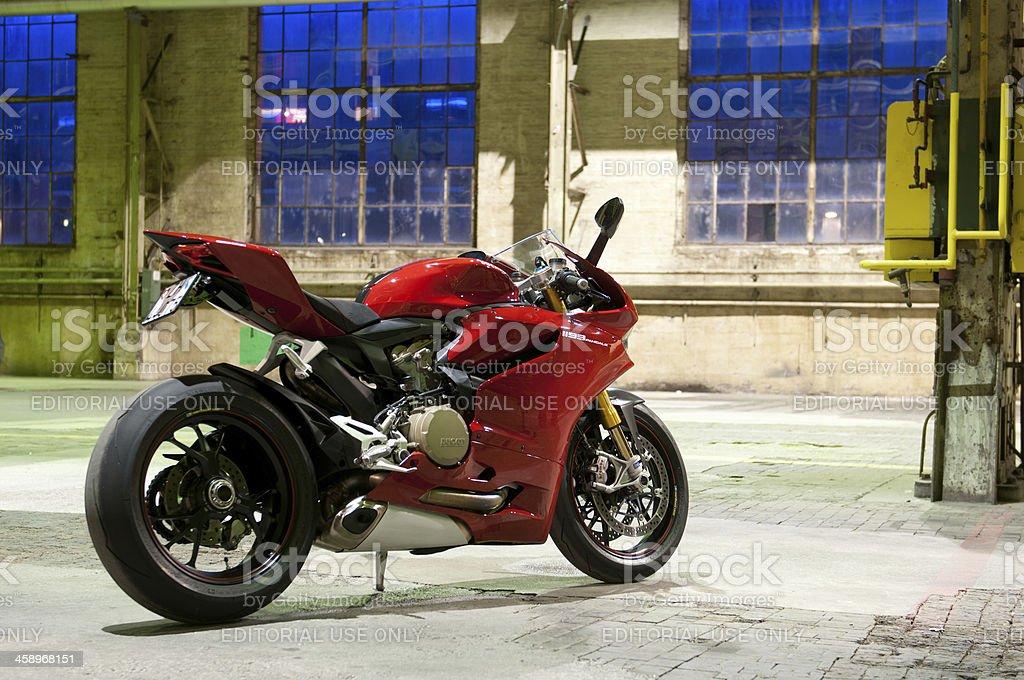 Ducati 1199 Panigale stock photo