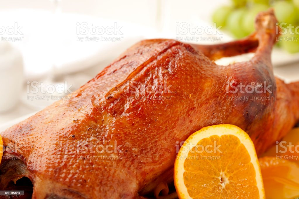 Duck a l'Orange royalty-free stock photo
