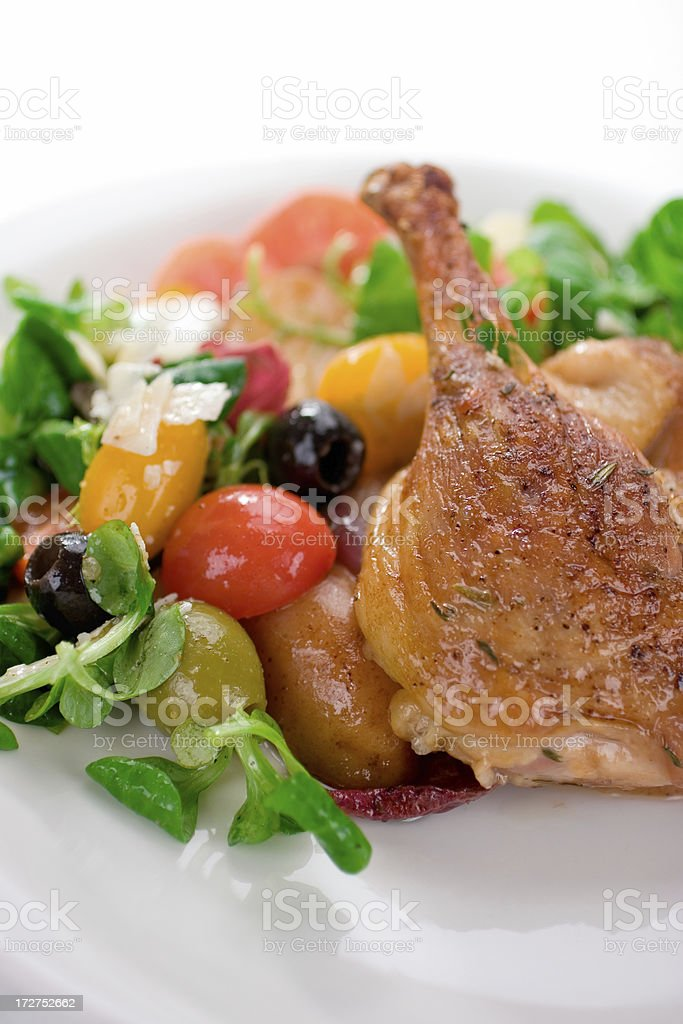 Duck Confit royalty-free stock photo