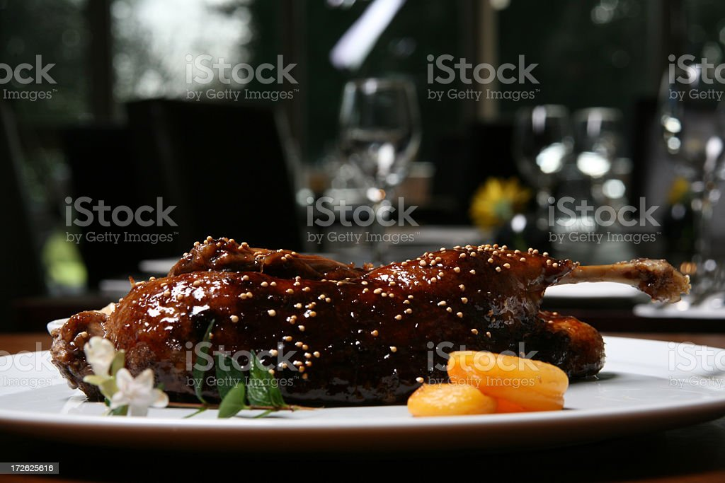 Duck Dinner2 royalty-free stock photo