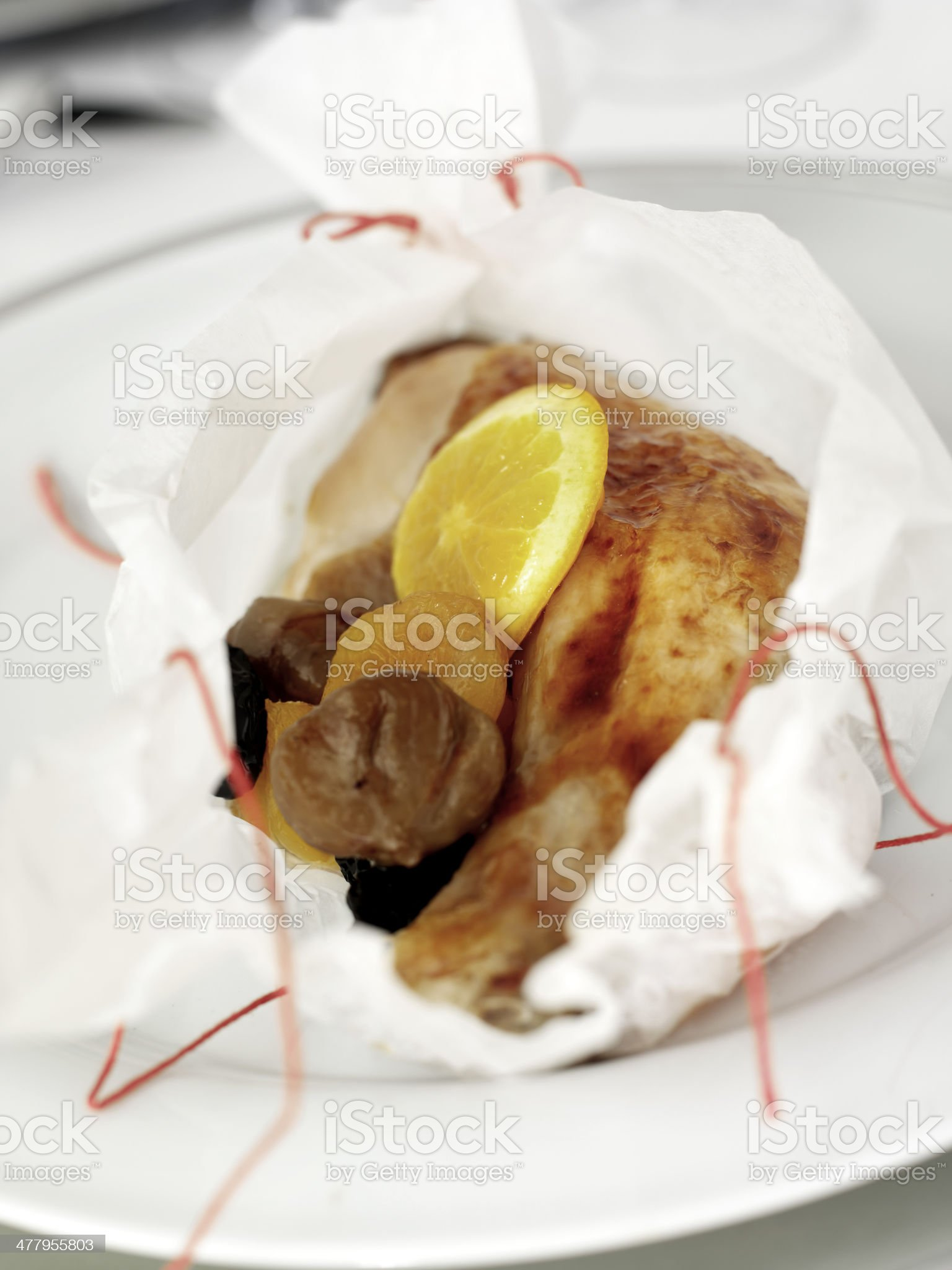duck dish royalty-free stock photo