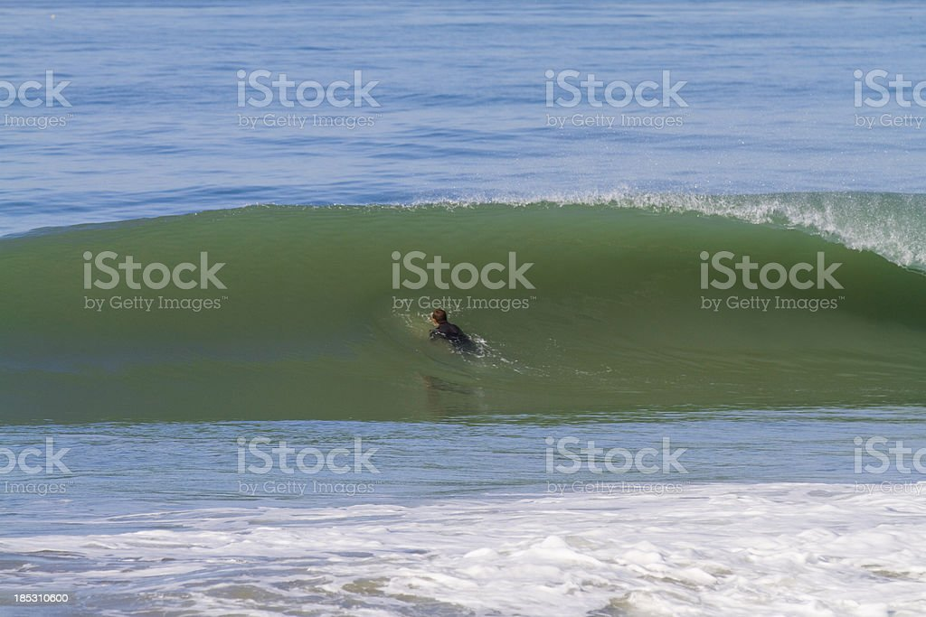 duck dive royalty-free stock photo