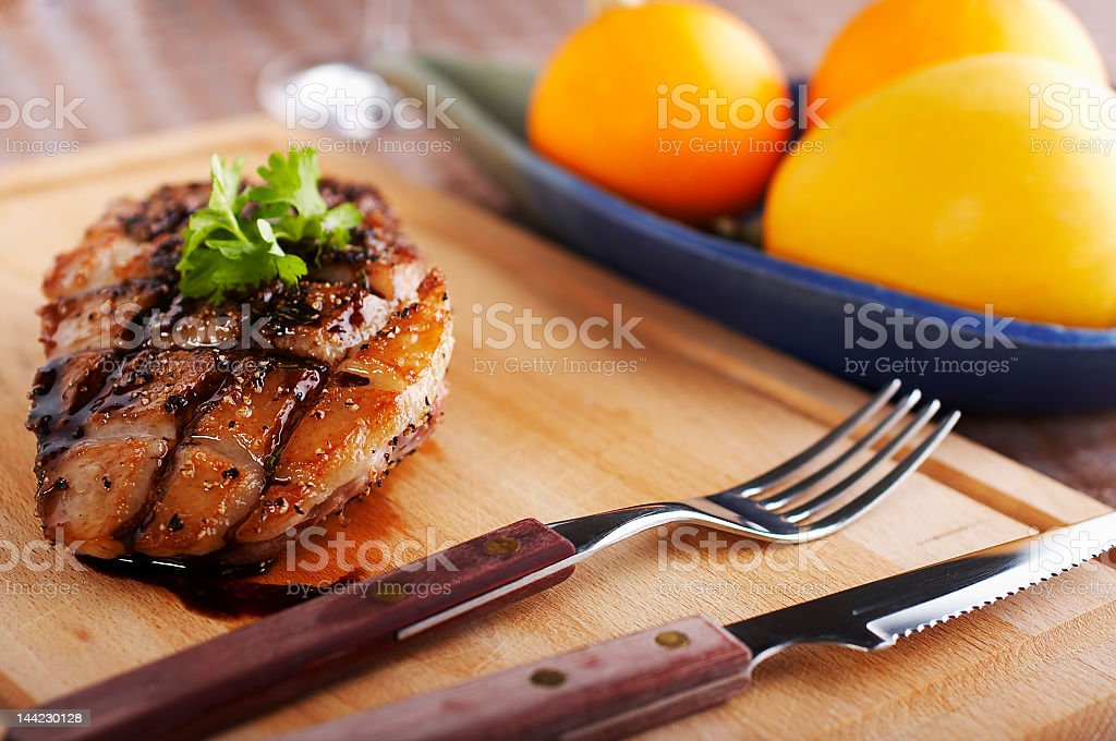 Duck fillet royalty-free stock photo