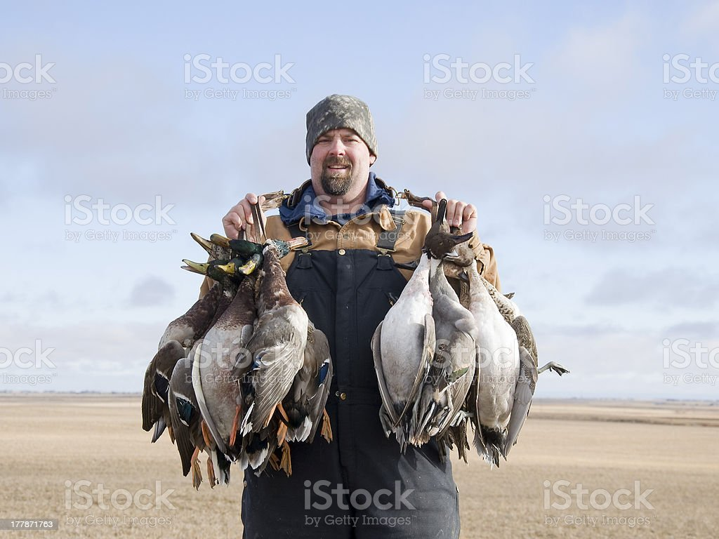 Duck Hunter stock photo