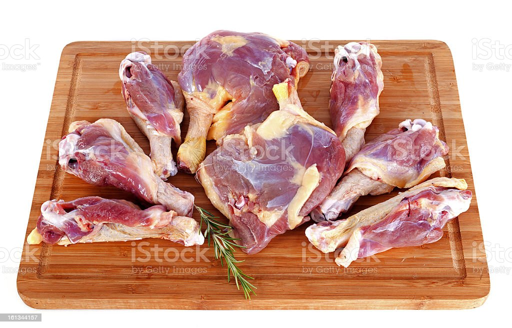 duck meat royalty-free stock photo