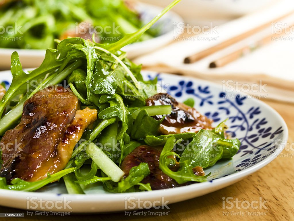 Duck Salad royalty-free stock photo