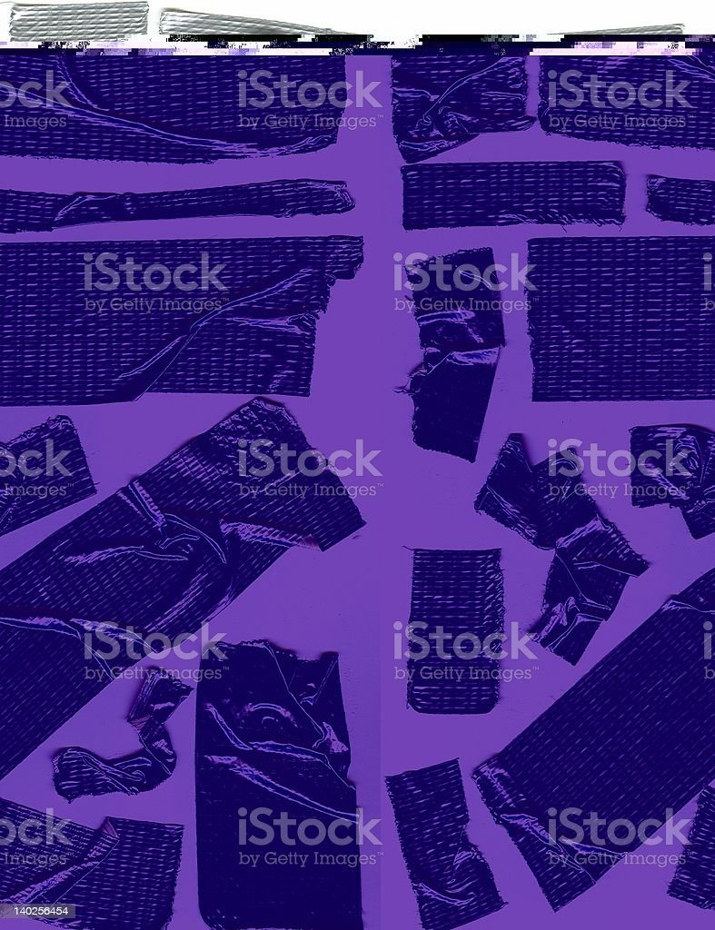 Duct Tape Array royalty-free stock photo