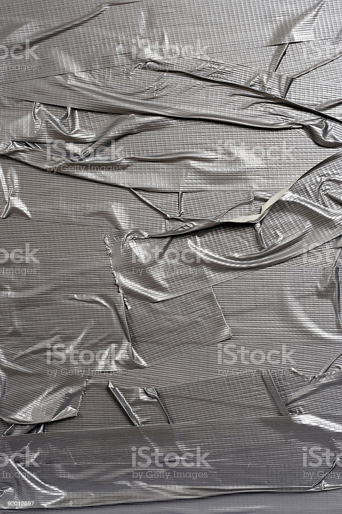 Duct tape background with wrinkles stock photo