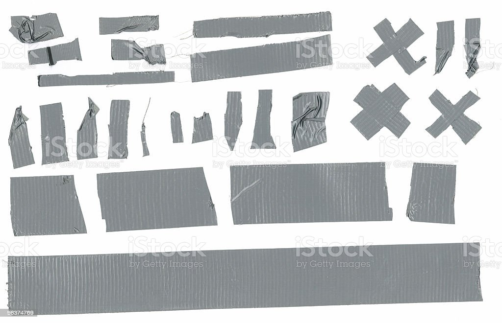 Duct tape collection royalty-free stock photo