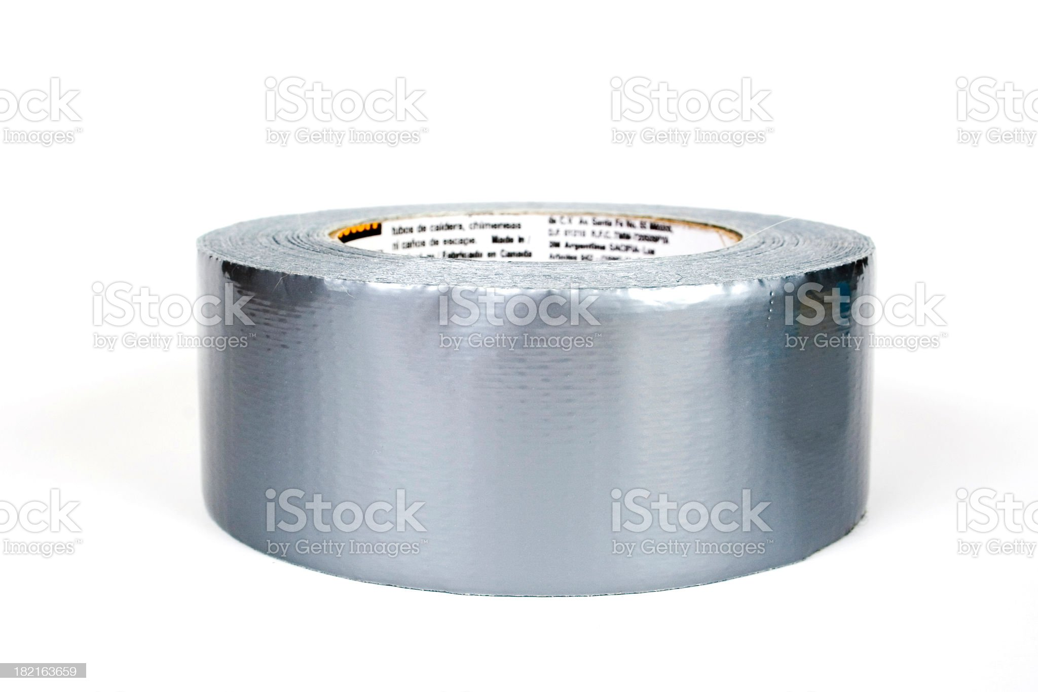 Duct Tape Roll royalty-free stock photo