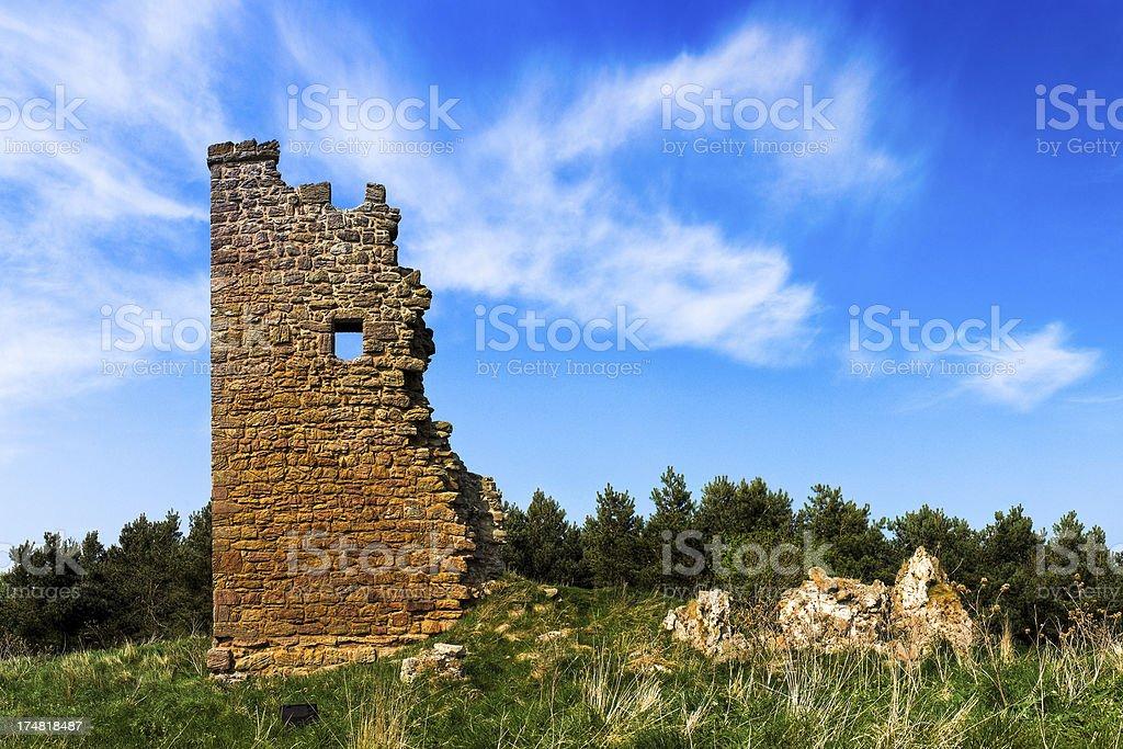 Duddo Tower, Berwick-upon-Tweed, Northumberland royalty-free stock photo