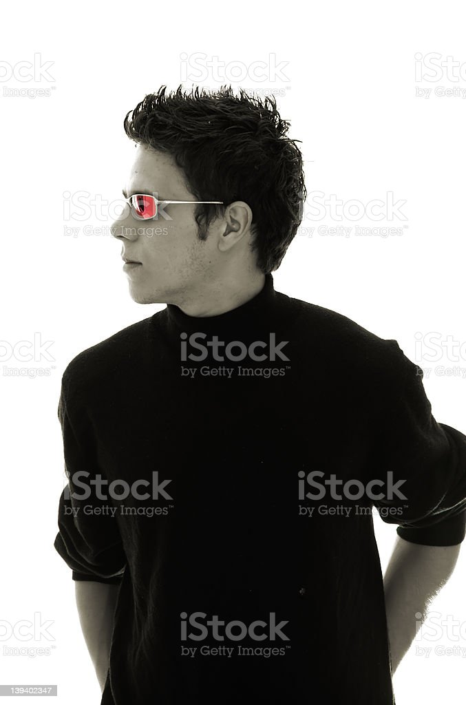 Dude, LATER stock photo