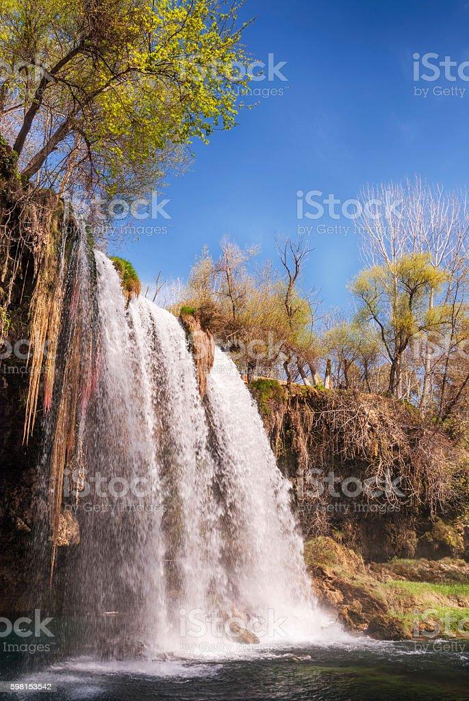 Duden Waterfall, Antalya, Turkey stock photo